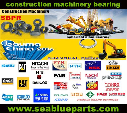 Excavator bearings 1